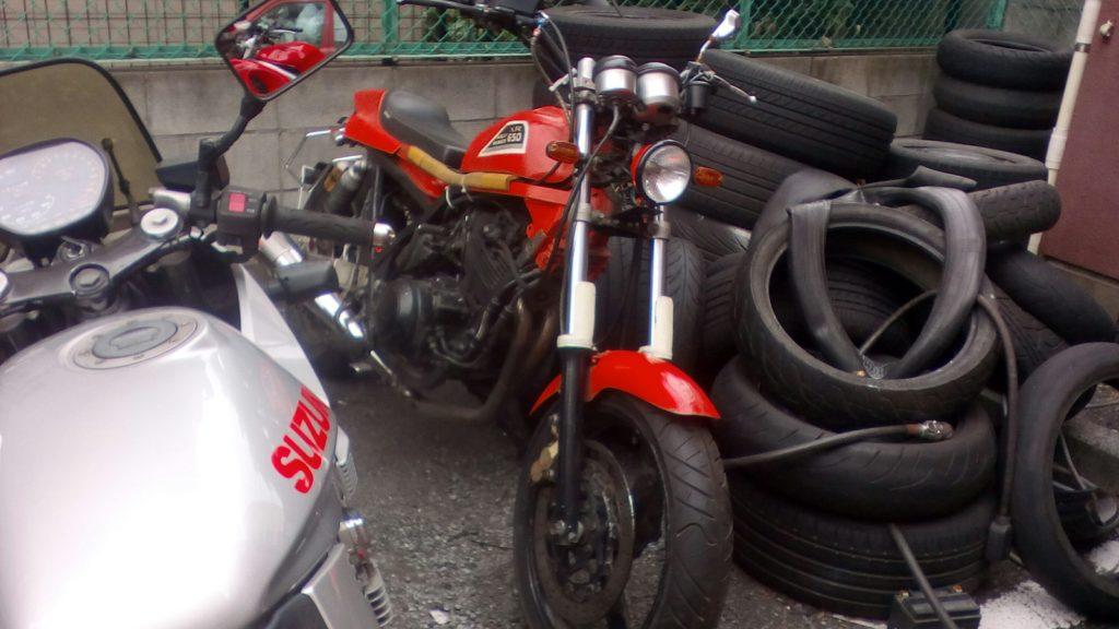 SRX600カスタム