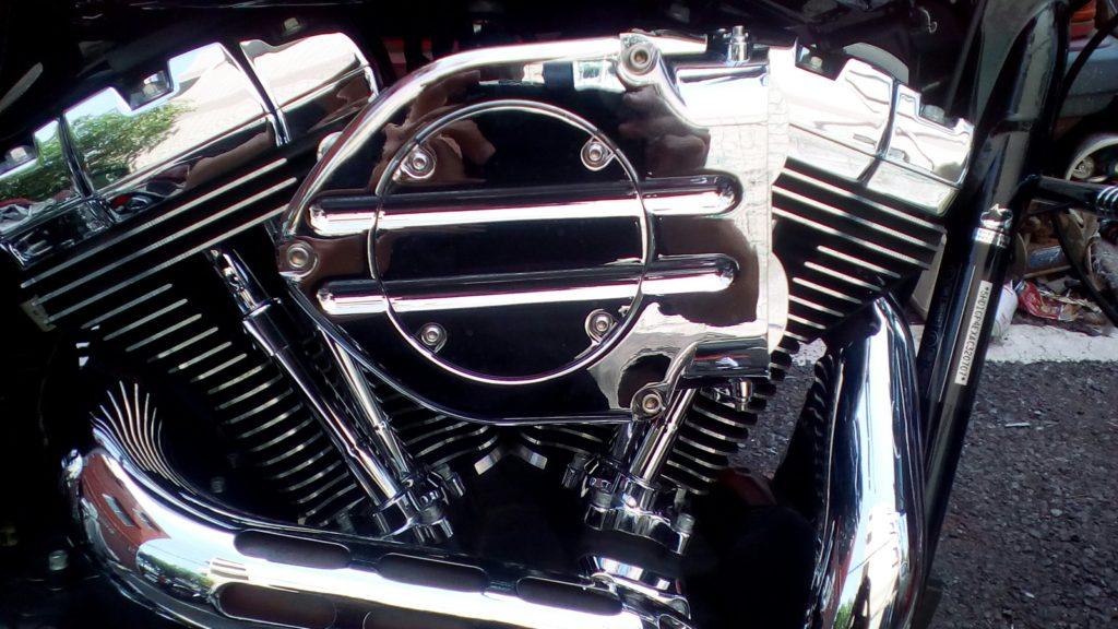 ハーレーダビットソンバイクのエンジン