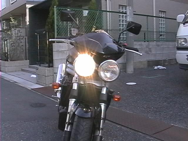 バイク車検・車検ヘッドライト検査