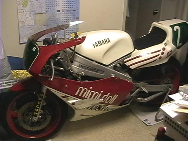 TZ250レーサーバイク