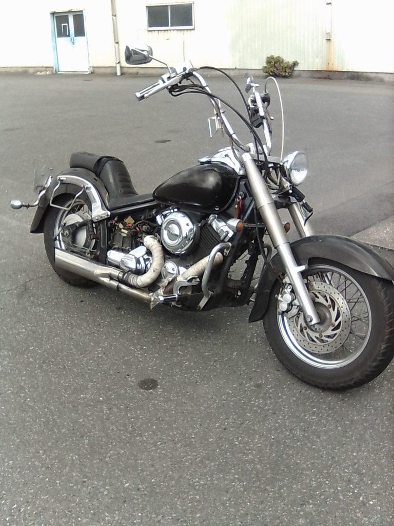 改造バイク、ドラッグスター400
