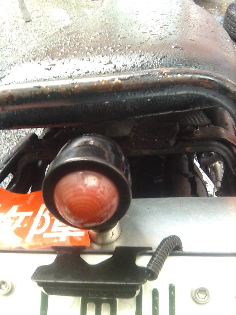 バイクのテールランプ尾灯不点灯